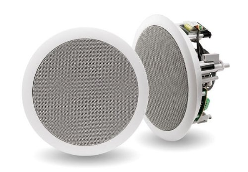 Indiana Line rd-260 Altavoces de 2 x 60 W, Color Blanco