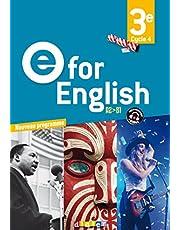 E for English 3e (éd. 2017) - Livre (E for English 2016 - 2017)