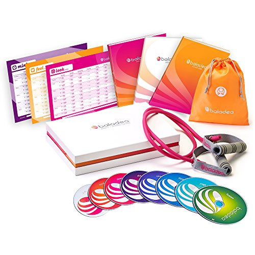 baladea Fitness and Wellness System includes 8 Workout DVDs by baladea