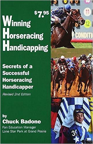 Buy Winning Horseracing Handicapping: Secrets of a