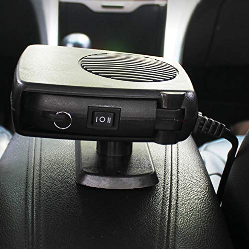 Panamami Car Heater Windshield Defroster Car Electric Heater Wind Car Heater Warmer Hot Air Heater Car Accessories: