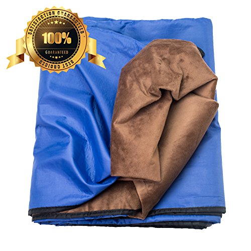 51XB9Y2p5kL - Waterproof Blanket Outdoor Extra Large for Stadium/Picnic/Camping/Beach and Blanket for Couch/Sofa/Bed - BHOME Outdoor Blanket with Waterproof/Windproof Backing Warm Perfect for All Activities