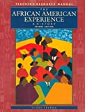 The African American Experience, Grades 6-12 9780835923255