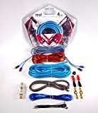 Gravity GR-KIT8Bi 8 Gauge Amplifier Installation Kit with High Performance RCA and Speaker Wire