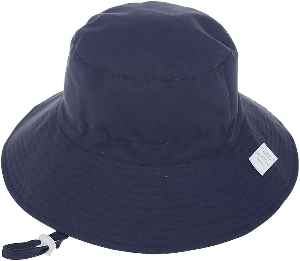 Ajustable Gorro Verano de Pescador para ni/ños ala Ancha para Exteriores//nataci/ón//Playa//Piscina LACOFIA Sombrero de Sol para beb/é ni/ño UPF 50