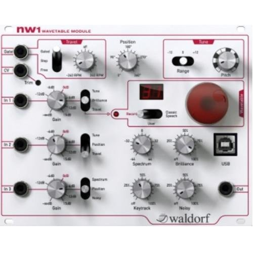 Scanning Module (Waldorf nw1 Wavetable Module)