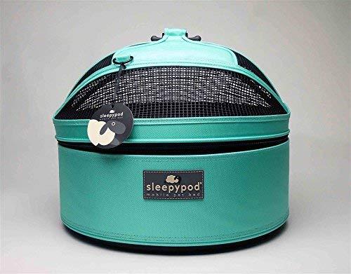 (Sleepypod Mobile Pet Bed Robin Egg Blue Limited Edition )