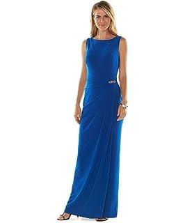 8e35456c53f Chaps Women s Plus-Size Polka-Dot Sateen Dress