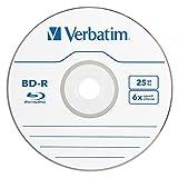 Verbatim BD-R 25GB 6X Blu-ray Recordable Media Disc