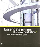 img - for Bundle: Essentials of Modern Business Statistics with Microsoft Office Excel, Loose-leaf Version, 7th + LMS Integrated for MindTap Business Statistics, 1 term (6 months) Printed Access Card book / textbook / text book