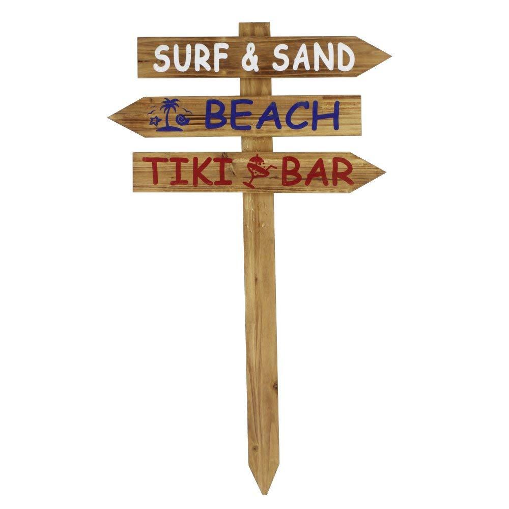 Wegweiser Schild Surf Beach Bar 90 cm