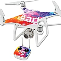 Skin For DJI Phantom 4 Quadcopter Drone – Art | MightySkins Protective, Durable, and Unique Vinyl Decal wrap cover | Easy To Apply, Remove, and Change Styles | Made in the USA
