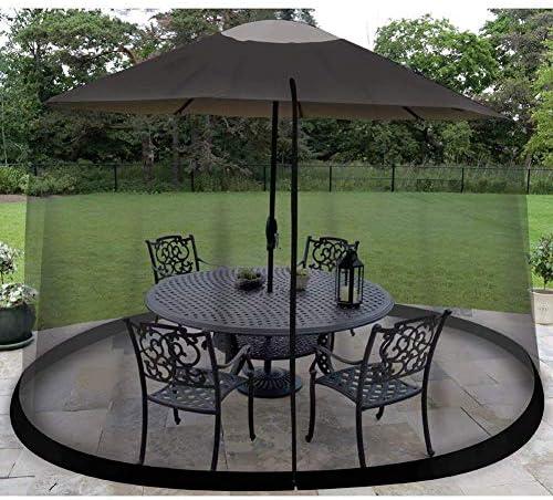 蚊帳、屋外のニーズを楽しむ屋外傘テーブル画面蚊帳虫ネットメッシュガーデン、335cm220cm