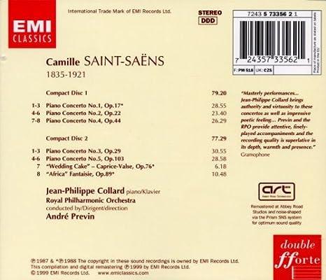 Saint-Saëns: Piano Concertos