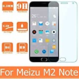 PES Premium Tempered Glass,2.5D Hardness, Ultra Clear Shatter Proof, 9H Hard Screen Protector,Anti-Fingerprints & Oil Stains Coating For Meizu m2 note