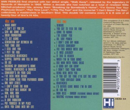 The Hi Singles A's & B's by Hi Records (UK)