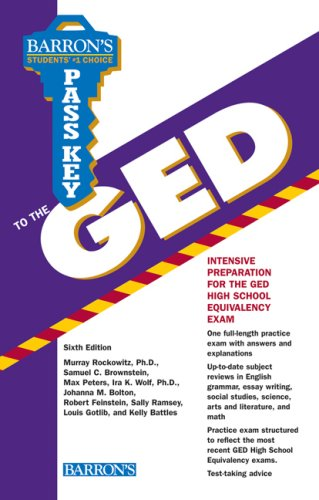 Pass Key to the GED (Barron's Pass Key to the GED)