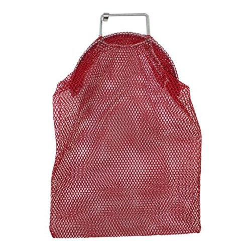SGT KNOTS Mesh Catch Bag w/Galvanized Wire Handle - Nylon Scuba Dive Bag - Game Bag/Fish Bag for Diving & Snorkeling - Net Bag for Spearfishing, ...