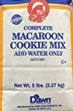 5 Pounds RH Complete Macaroon Cookie Mix (Pack of 1)