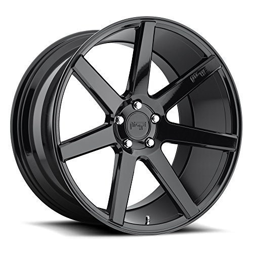 (Niche Verona 20x10 Black Wheel / Rim 5x120 with a 40mm Offset and a 72.6 Hub Bore. Partnumber M168200021+40)