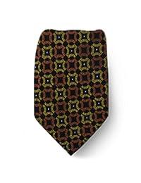 Mens Extra Long Designer Pattern Big and Tall Necktie