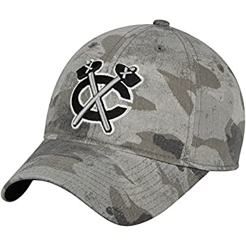 41df59beb0ae34 ... official store chicago blackhawks adidas slouch adjustable hat camo  47501 81af5