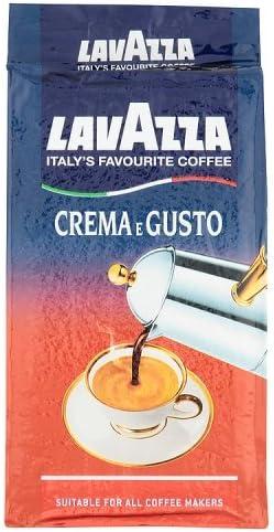 Lavazza Crema e Gusto, Café Molido, también para Cafetera italiana ...