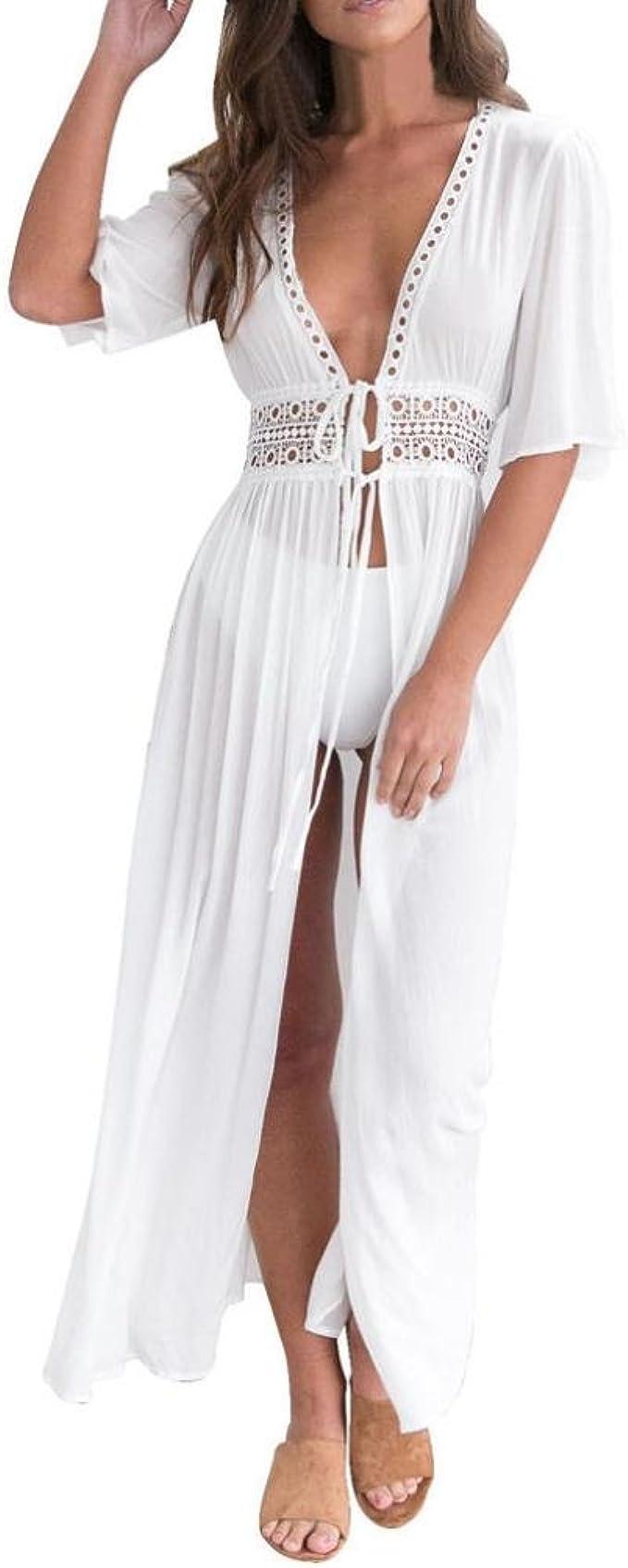 Overdose 2018 Traje De BañO Bikini Mujer Cubrir hasta Moda Vestido La Playa Encaje Bohemia: Amazon.es: Ropa y accesorios