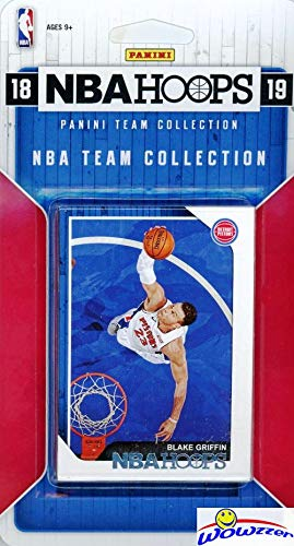 - Detroit Pistons 2018/2019 Panini Hoops NBA Basketball EXCLUSIVE Factory Sealed Limited Edition 9 Card Team Set with Blake Griffin, Andre Drummond, Reggie Jackson & Many More! WOWZZER!
