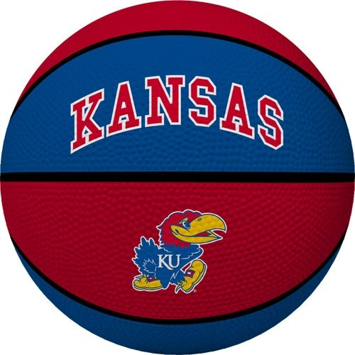 Ku Basketball Kansas - NCAA Kansas Jayhawks Crossover Full Size Basketball by Rawlings