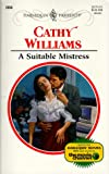 A Suitable Mistress, Cathy Williams, 0373120060