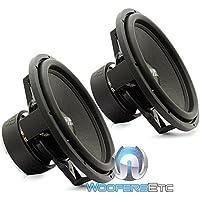 Pair Sundown Audio SA-15 V.3 D4 15 1500 Watts Dual 4-Ohm SA Series Subwoofers Pair