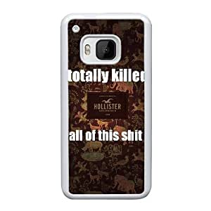 Personalized Durable Cases HTC One M9 Cell Phone Case White Hollister Co Eexne Protection Cover