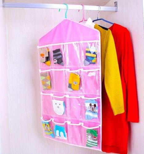 Pockets Hanging Underwear Organiser Storage