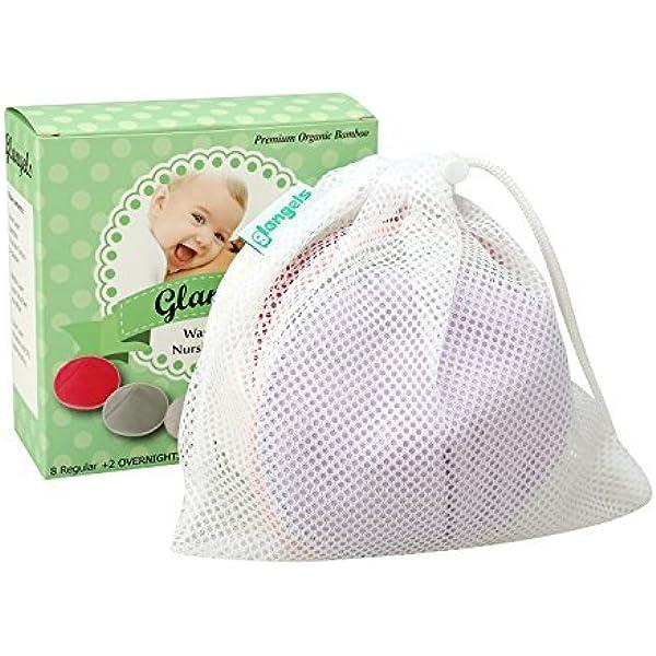 12pcs//set Reusable Washable Breast Feeding Baby Nursing Pads Leak-proof Film