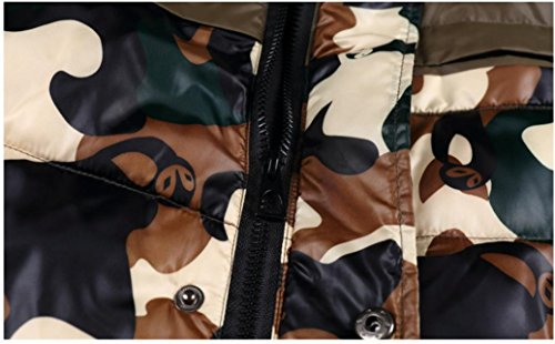 Moda Moda Moda giù giù giù giù Camouflage maschile giacca leggera d'oca XYLUCKY xl giù xl Pwqff