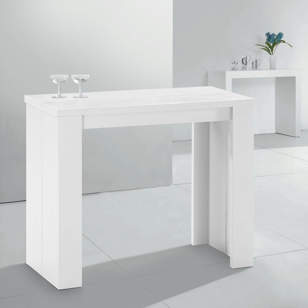 Simply Extensible Rallonges Blanche Table Console 3 8nkONwP0XZ