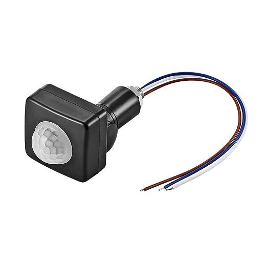 ONEVER Interruptor infrarrojo del cuerpo del sensor de movimiento PIR sensor de iluminaci¨n Detector