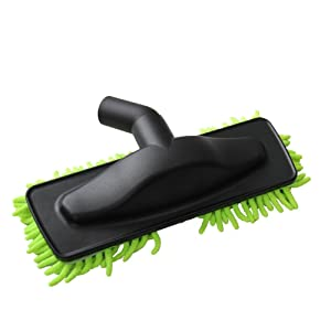 """EZ SPARES Replacement Vacuum Cleaner Mop Brush Head,1 1/4"""" 32mm Universal Hard Wood Floor Washable Sweeper Microfiber Chenille Dust Fringe Brush,Fit Hoover Eureka Kirby Rainbow Kenmore Accessory"""