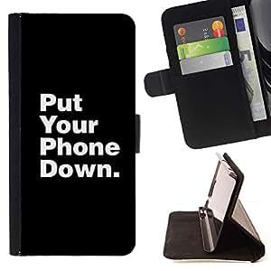 Momo Phone Case / Flip Funda de Cuero Case Cover - Teléfono de Down muerta Foco Cita - Sony Xperia Z2 D6502