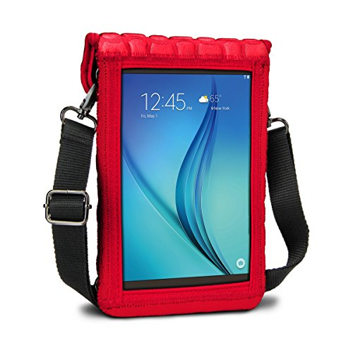 7 Inch Tablet Case Neoprene Sleeve Cover w/Built-in Screen P