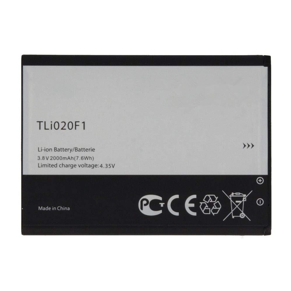 Uniamy Internal Replacement TLi020F1 Battery For Alcatel One Touch Pop C7, One Touch Pop C7 Dual, OT-7040, OT-7040D, OT-5042T, OT-5042D, OT-5042W