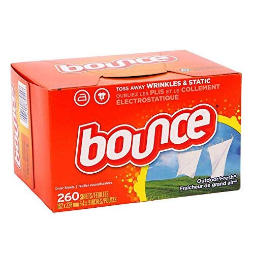 Bounce Fabric Softener and Dryer Sheets, Outdoor Fresh, 260 Count
