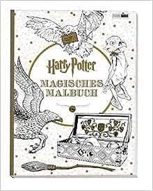 Harry Potter Magisches Malbuch 9783833233180 Amazon Com Books