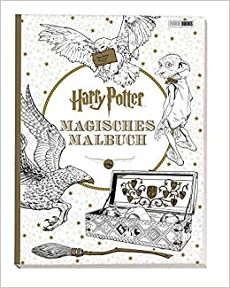 Harry Potter Magisches Malbuch Amazon De Bã Cher