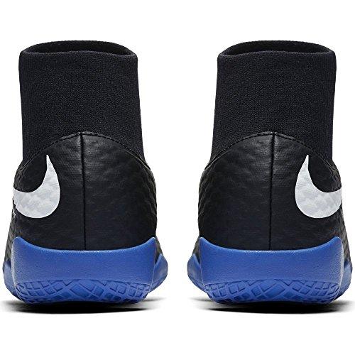 Nike Youth Hypervenomx Phelon Iii Dynamic Fit Indoor Scarpe Da Calcio Indoor / Corte [nero] (1.5y)