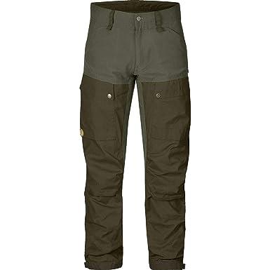 0afaaf2c0 Fjallraven Mens Keb Trousers Deep Forest/Laurel Green 48 (US Mens 32) R