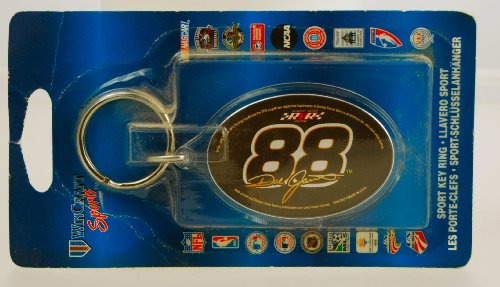 (Win Craft Sports - NASCAR - Dale Jarrett #88 - Sport Key Ring - Robert Yates racing - 4 Inch - Limited Edition - Collectible)