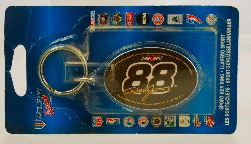 Win Craft Sports - NASCAR - Dale Jarrett #88 - Sport Key Ring - Robert Yates racing - 4 Inch - Limited Edition - (Robert Yates Racing)