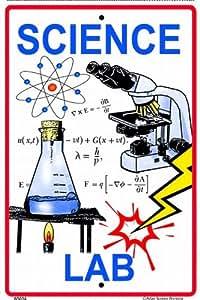 """Science Lab 10"""" X 15"""" Aluminum Sign"""
